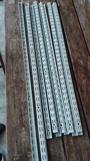 70 Metall-Regalteile SPUR gegen Abholung