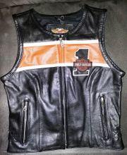 Harley-Davidson Leder Weste CA 03402
