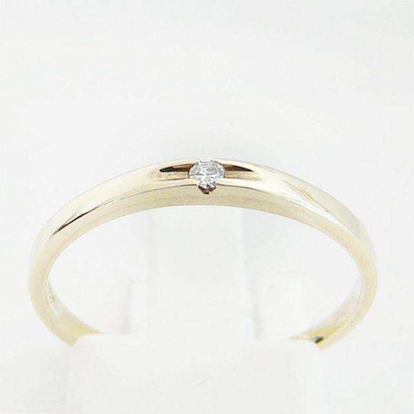 Ring Gold 333er Diamant Goldschmuck