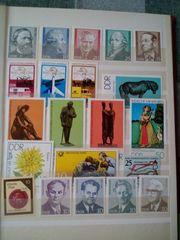 Biete Briefmarken DDR