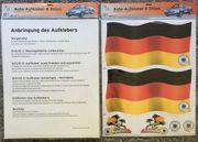 DFB Auto Aufkleber Deutschland