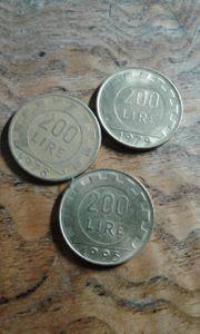 Münzen 200 lire