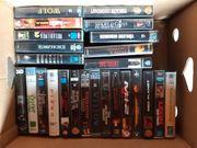 Videofilme 25 Stück