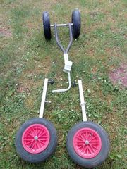 Heckräder und Slipwagen
