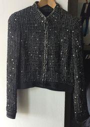 Chanel Tweed Jacket Blazer Blouson