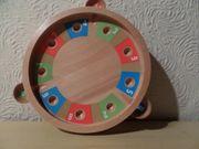 Roulette - Spiel - mit Außenschalen Flohspiel -