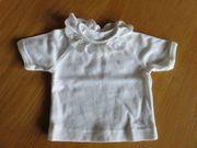 Puppen-Bluse weiß