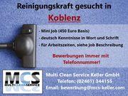 Reinigungskräfte für Minijob in Koblenz