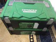 hithachi set bohrmaschine und akuschrauben