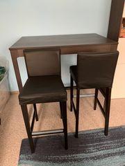 Bartisch inkl Barhocker Tisch Stühle