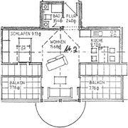 1-Zimmer-Wohnung zu vermieten