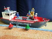 Playmobil Großes Frachtschiff