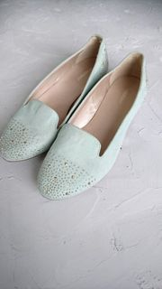 Loafer Schuhe mint Gr 37