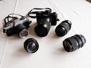 Minolta X-300 Spiegelreflexkamera