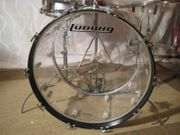 Ludwig Clear Vistalite Drum Set
