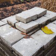 Pflastersteine 20x20cm für Terasse oder