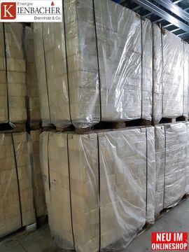 Bild 4 - Holzbriketts 960kg Palette 96x10kg RUF-Form - Ampfing