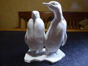 Kaiser Porzellan Figur Pinguin Kaiserpinguin