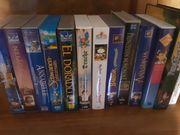 VHS Kasetten Zeichentrick KInderfilme