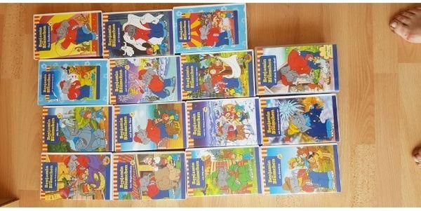 Kindervideos VHS Benjamin Blümchen Felix