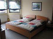 Schlafzimmerschwebetürenschrank von Nolte inkl Doppelbettanlage