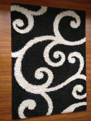 Shaggy Teppich mit Ranken-Design 160