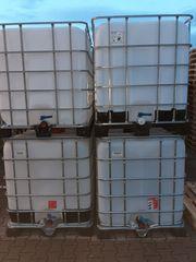 1000 Liter Wassertank IBC Maischetank
