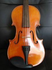 Sehr schöne alte Viola Rückenmensur