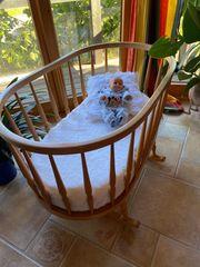 Kleinkinder- bzw Baby-Bett 100x60x80 Wiegefunktion