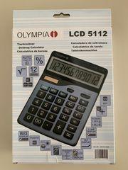 OLYMPIA Tischrechner grosser Taschenrechner LCD
