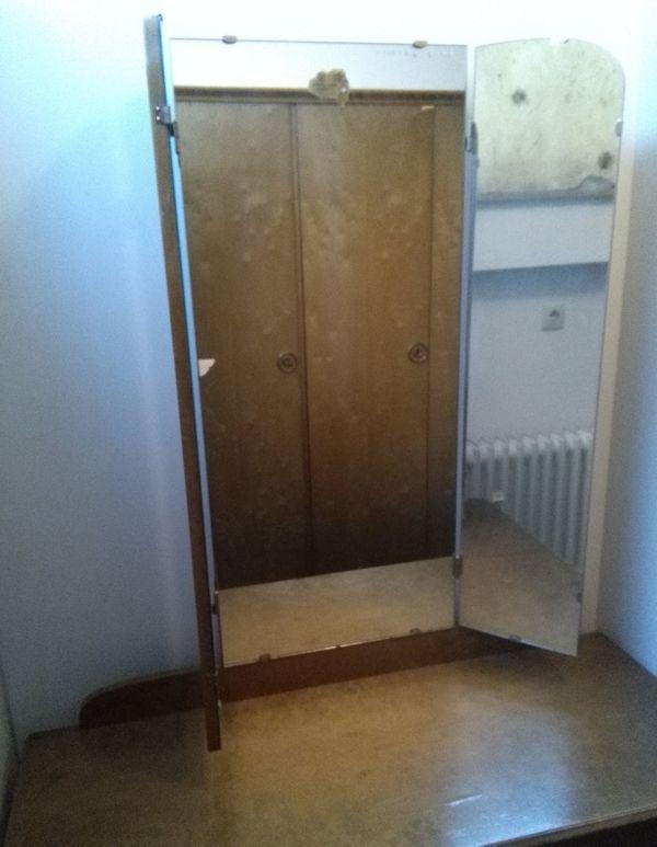 Schlafzimmerkommode mit Spiegel, Spiegelkommode, aus den ...