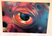 Original DAIM Graffiti Acryl IGELFISCH