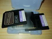 SM-Speicherkarten 3 Stück 8 MB