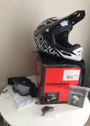 Fahrradcross Motorcross Helm Set