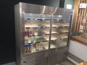Ladeneinrichtung - Kühlschrank mit zwei Türen