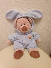 Stofftier Kuscheltier Bär mit Schlafanzug