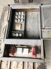 E-Kasten für Baustrom
