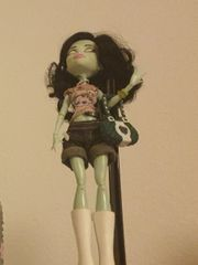 1 Monster High Puppe zu
