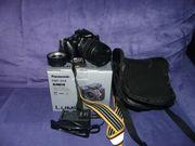 Kamera-SYSTEM-DSLR-PANASONIC-DMC-G3X-VARIO-14-140mm viel Zubehör
