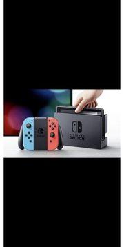 Nintendo switch konsole mit 4