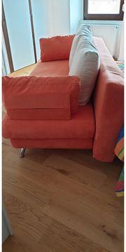 Sofa ausklappbar als Schlafcoach