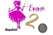 Bügelbild Geburtstag Fee Fairy Birthday