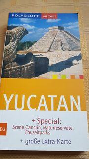 Reiseführer 2 mal Mexico Yucatan