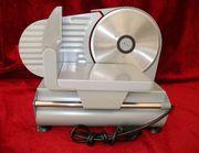 Brotschneidemaschine Allesschneider Alaska TS1010M Metall