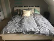 Doppelbett weiß 1 80m