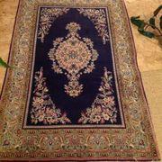 echter handgeknüpfter Perser Teppich Ghom
