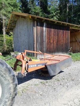 Traktoren, Landwirtschaftliche Fahrzeuge - Fahr Heckmähwerk