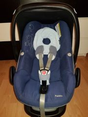 Maxi Cosi Pepple mit Isofixstation