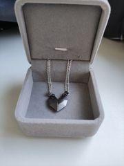 Päärchen Herz Ketten matching necklaces