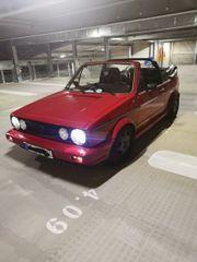 Golf 1 Cabrio Karmann